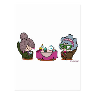 duo solitaire postcard