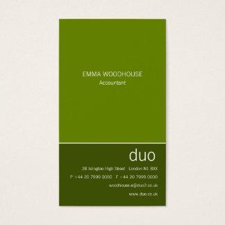 Duo Vertical May Green