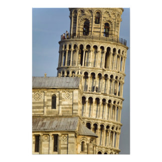 Duomo and Leaning Tower, Pisa, Tuscany, Italy Photo Print