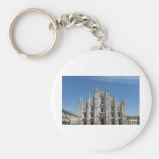Duomo di Milano gothic cathedral church, Milan Key Chain