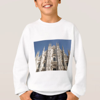 Duomo di Milano gothic cathedral church, Milan Sweatshirt