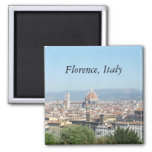 Duomo, Florence, Italy (St.K.) Square Magnet