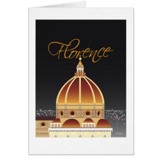 Duomo greeting card