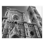 Duomo in Florence, Italy Photo Art