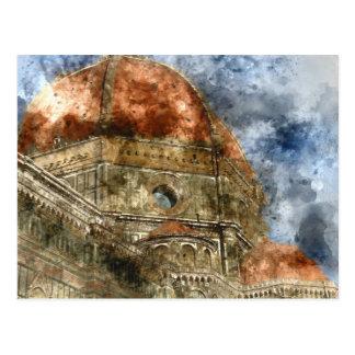 Duomo Santa Maria Del Fiore and Campanile Postcard