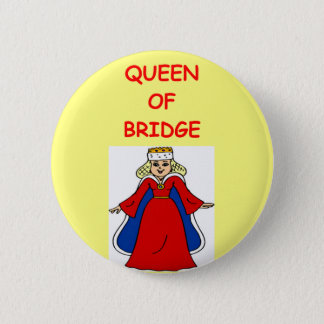 duplicate bridge 6 cm round badge
