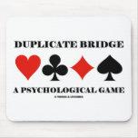 Duplicate Bridge A Psychological Game Mousepad