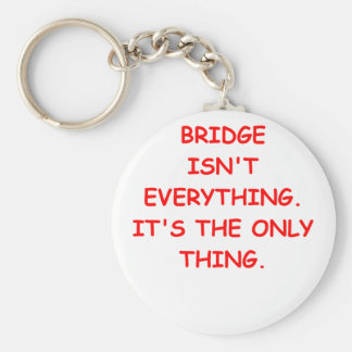 duplicate bridge basic round button key ring