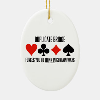 Duplicate Bridge Forces You To Think In Certain Ornaments