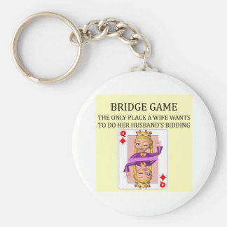 duplicate bridge game player basic round button key ring