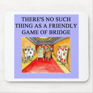 duplicate bridge game player mouse mat