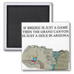 duplicate bridge game player square magnet