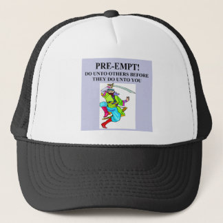 duplicate bridge game player trucker hat