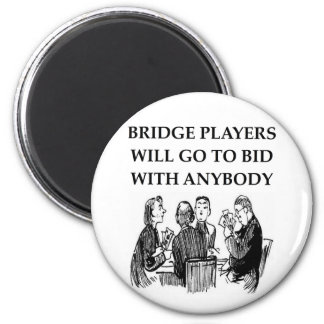 duplicate bridge jokes magnet
