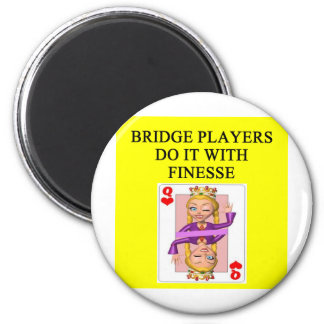 duplicate bridge player magnet