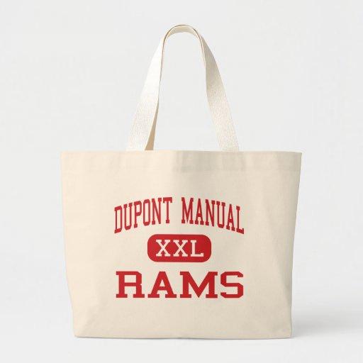 Dupont Manual - Rams - High - Louisville Kentucky Tote Bags