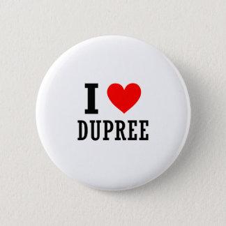 Dupree, Alabama 6 Cm Round Badge