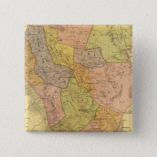 Durango 15 Cm Square Badge