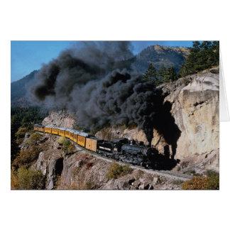 Durango and Silverton Railroad, No. 481, Bear Cree Card