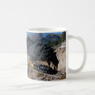 Durango and Silverton Railroad, No. 481, Bear Cree Coffee Mug