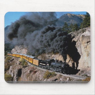 Durango and Silverton Railroad, No. 481, Bear Cree Mouse Mat