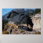 Durango and Silverton Railroad, No. 481, Bear Cree Posters