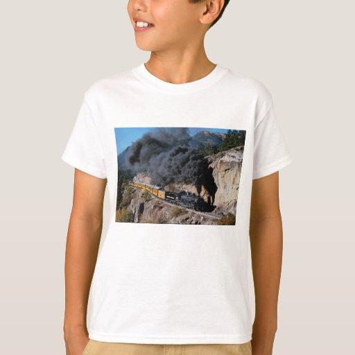 Durango and Silverton Railroad, No. 481, Bear Cree T-shirts