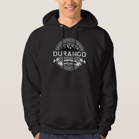 Durango City Logo Grey Hoodie