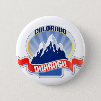 Durango Colorado 6 Cm Round Badge