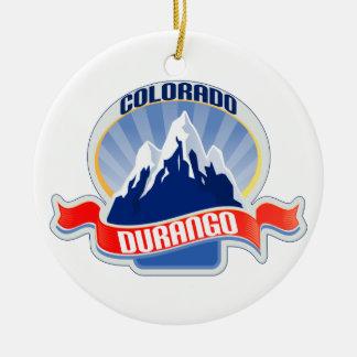 Durango Colorado Christmas Ornament
