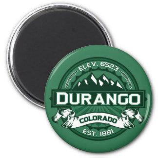"""Durango """"Colorado Green"""" Logo Magnet"""