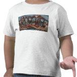 Durango, Colorado - Large Letter Scenes T Shirts