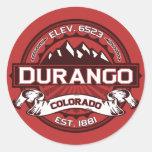Durango Colour Logo Sticker