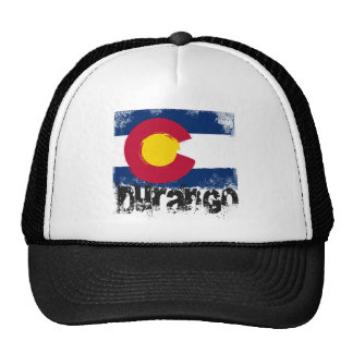 Durango Grunge Flag Cap