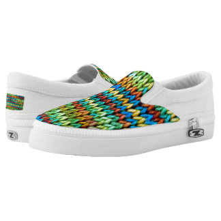 Durango Knitted Slip Ons Printed Shoes