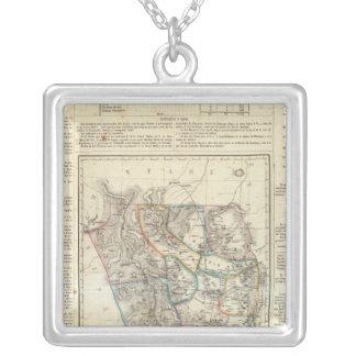 Durango, Mexico Silver Plated Necklace