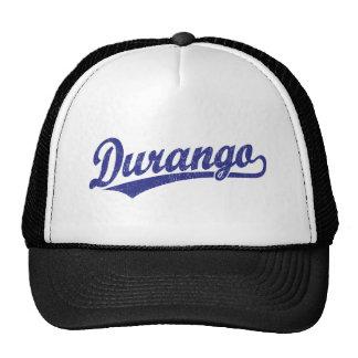 Durango script logo in blue cap