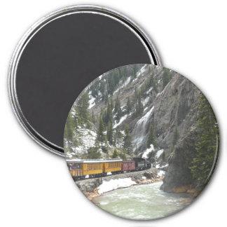 Durango Silverton Train 7.5 Cm Round Magnet