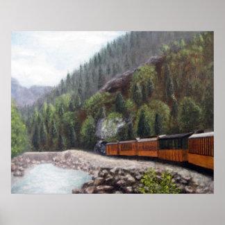 Durango Train Poster