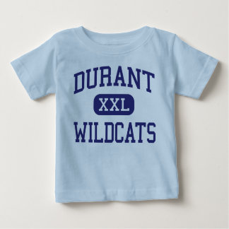 Durant - Wildcats - High School - Durant Iowa Baby T-Shirt
