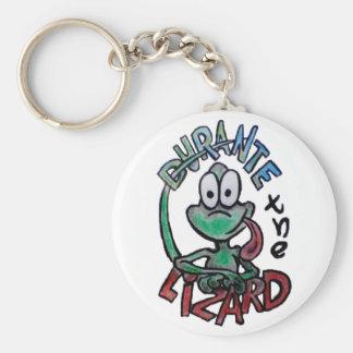 Durante the Lizard Keychain