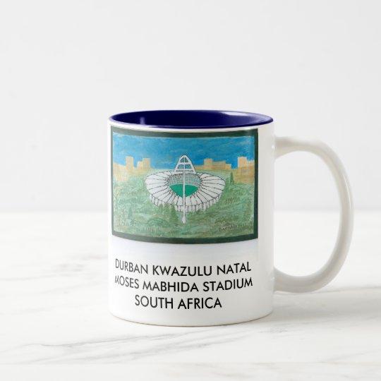DURBAN KWAZULU NATAL MOSES MABHIDA STADIUMS Two-Tone COFFEE