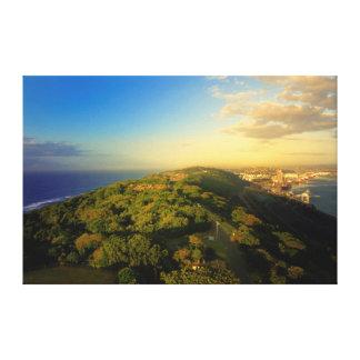 Durban's Bluff, Durban, Kwazulu-Natal Canvas Print