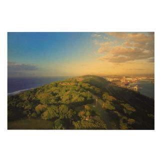 Durban's Bluff, Durban, Kwazulu-Natal Wood Canvases
