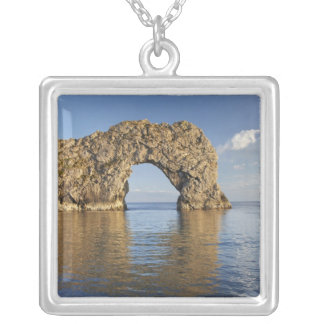 Durdle Door Arch, Jurassic Coast World Heritage 2 Silver Plated Necklace