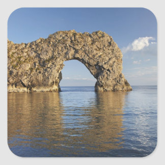Durdle Door Arch, Jurassic Coast World Heritage 2 Square Sticker