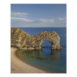 Durdle Door Arch, Jurassic Coast World Heritage Poster