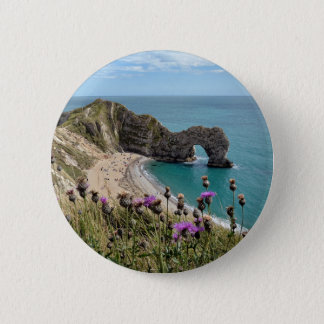 Durdle Door Dorset 6 Cm Round Badge