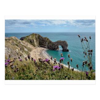 Durdle Door Dorset Postcard