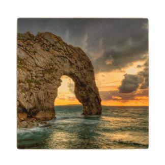 Durdle Door Jurassic Coastline  Dorset, England Wood Coaster